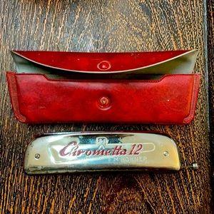 Hohner - Vintage Harmonica Chrometta 12 12-Hole